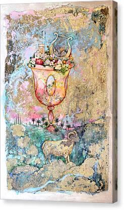 Rams Horn Canvas Print