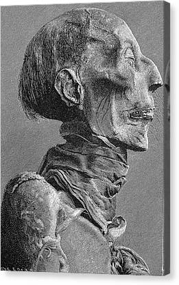 Pharaoh Canvas Print - Ramses II Mummy by Bildagentur-online/tschanz