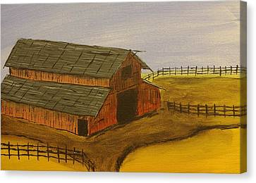 Ranch Canvas Print by Keith Nichols