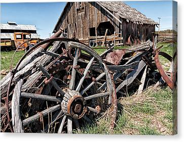 Ranch Wagon Canvas Print