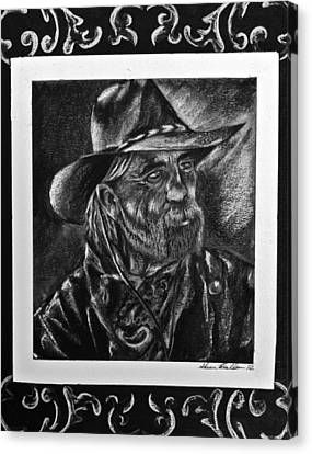 Rancher Canvas Print by Sheena Pape