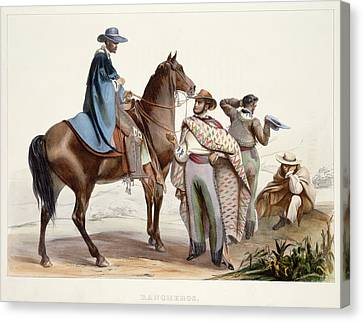 Rancheros Canvas Print by British Library