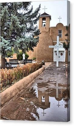 Ranchos Reflections Canvas Print