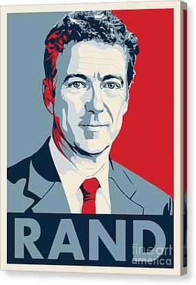 Rand Paul Canvas Print