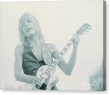 Randy Rhoads Day On The Green 7-4-81 Canvas Print