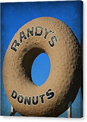 Randy's Big Donut Canvas Print by Stephen Stookey
