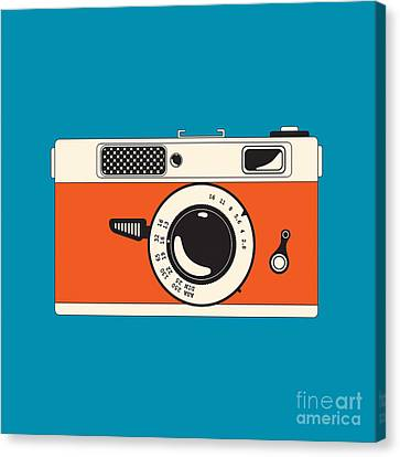 Rangefinder Film Camera Canvas Print by Igor Kislev