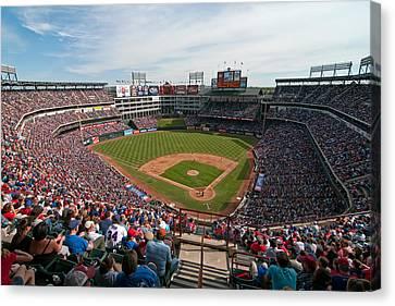 Rangers Ballpark In Arlington Canvas Print