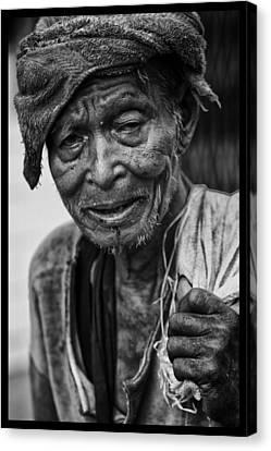 Indochina Canvas Print - Rangoon Wayfarer by David Longstreath
