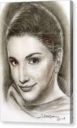 Rania Canvas Print