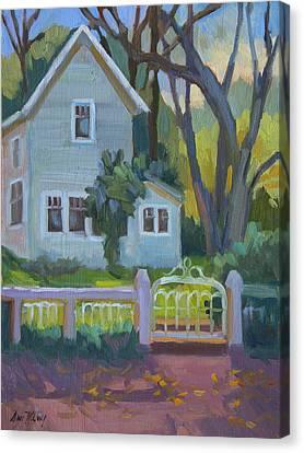Rankin Ranch Homestead Canvas Print by Diane McClary
