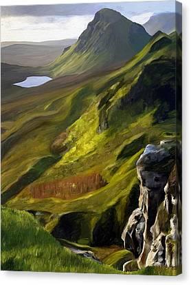 Rannoch Moor Canvas Print