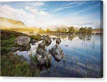 Rannoch Moor Canvas Print by Stephen Taylor