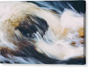 Rapids In Wilderness Canvas Print by Ari Salmela