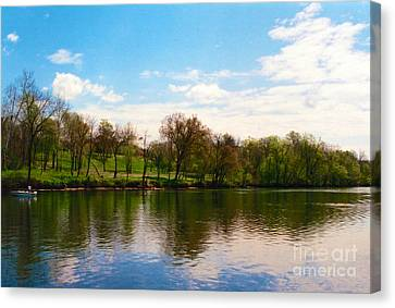 Rappahannock River I Canvas Print by Anita Lewis