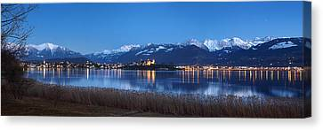 Rapperswil Canvas Print by Marc Huebner
