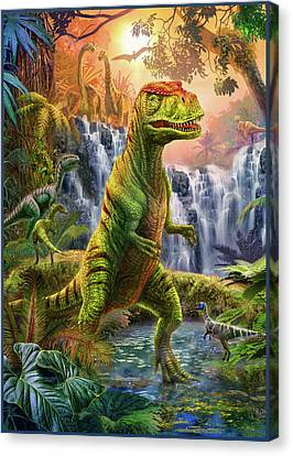 Raptor Canvas Print - Raptor by Jan Patrik Krasny