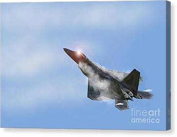Raptor Vapour Canvas Print by J Biggadike