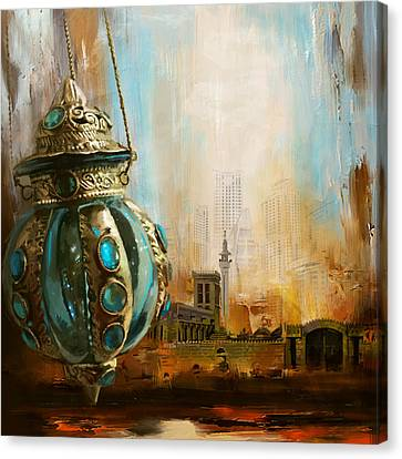 Ras Al Khaimah Canvas Print by Corporate Art Task Force