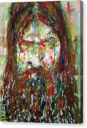 Rasputin Canvas Print by Fabrizio Cassetta
