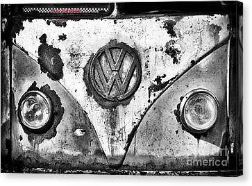 Rusted Cars Canvas Print - Rat Dub by Tim Gainey
