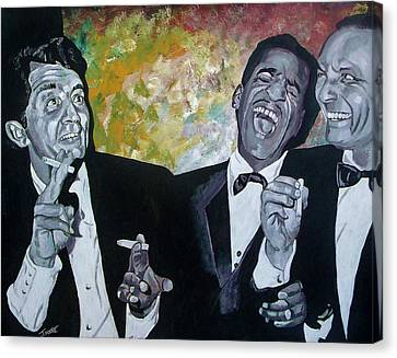 Rat Pack Canvas Print by Jeremy Moore