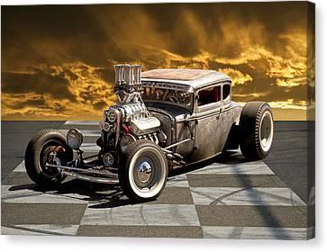 Rat Rod Coupe IIi Canvas Print