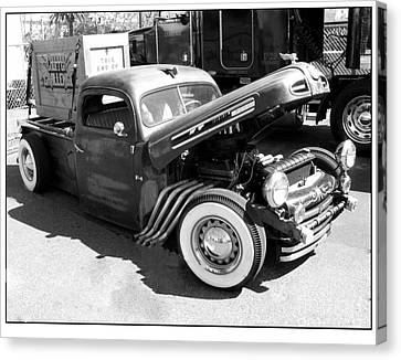 Rat Rod Hot Rod Canvas Print by Kip Krause