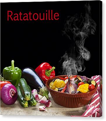 Ratatouille Concept Canvas Print by Colin and Linda McKie