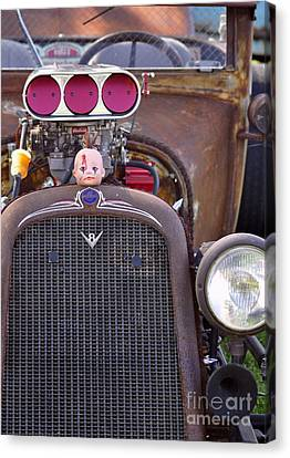 Ratrodded Out  Canvas Print by Juls Adams