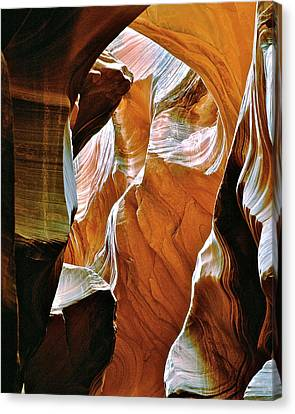 Rattlesnake Canyon Canvas Print by Ed  Riche