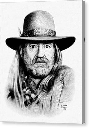 Rattlesnake Willie Canvas Print by Mike Roberts