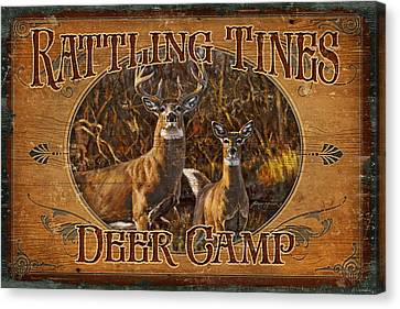 Rattling Tines Canvas Print by JQ Licensing
