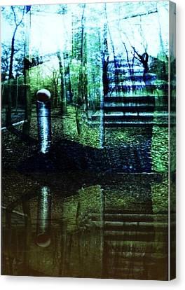 Raumland 01 Canvas Print by Gertrude Scheffler