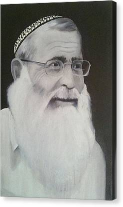 Rav Levanon Canvas Print by Boaz Hilel