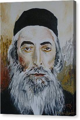 Rav Yaakov Yosef Herman Canvas Print