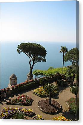Canvas Print featuring the photograph Ravello by Carla Parris