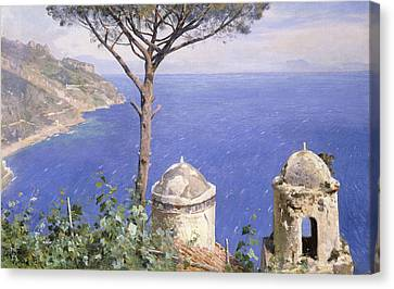 Ravello Canvas Print by Peder Monsted