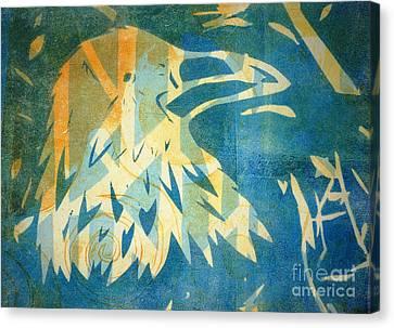 Raven Blue Canvas Print