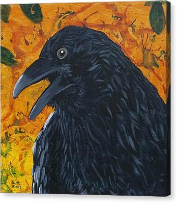 Raven Festival Canvas Print