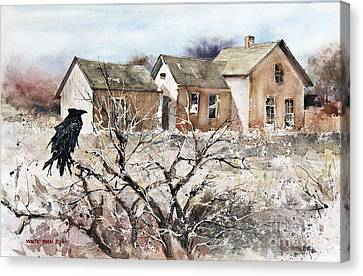 Raven Roost Canvas Print