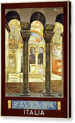 Ravenna Italy Canvas Print by Georgia Fowler