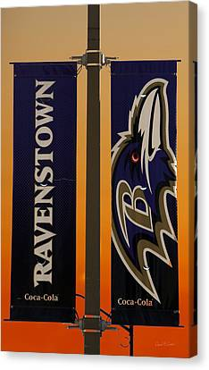 Ravenstown Canvas Print by David Simons