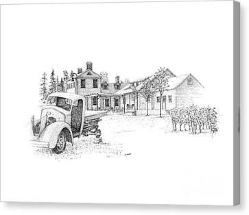 Ravine Winery Canvas Print