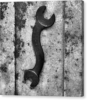 Raw Steel 2...curvatures Canvas Print by Tom Druin