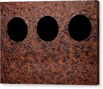 Raw Steel...oxidation Canvas Print by Tom Druin