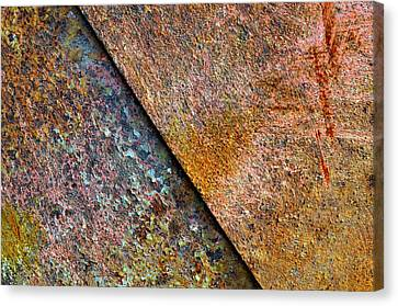 Raw Steel...strength Canvas Print by Tom Druin