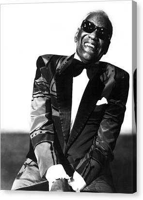 Albany Canvas Print - Ray Charles by Retro Images Archive
