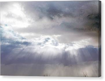 Ray From Heaven Canvas Print by Rhonda Humphreys