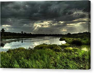 Lake Worth Sunlight Canvas Print by Jonathan Davison
